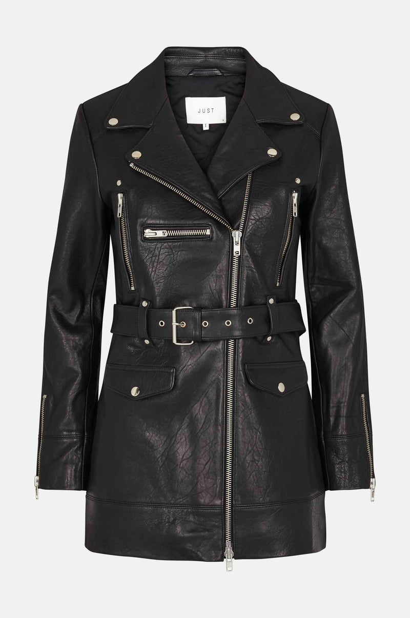 Gisele leather jacket