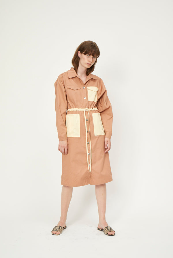 Bibi shirt dress