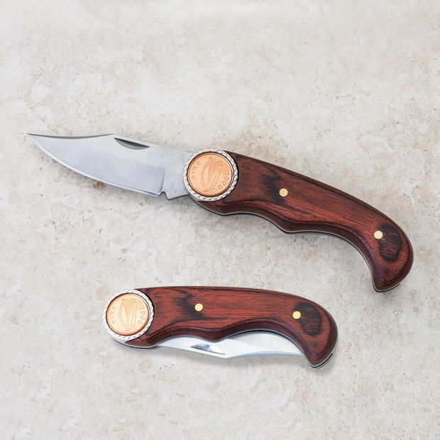 Irish Penny Pocket Knife
