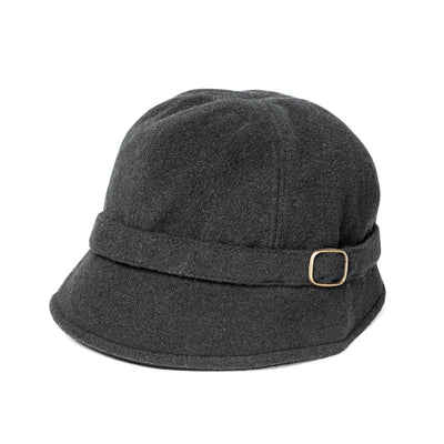 Black Flapper Cap