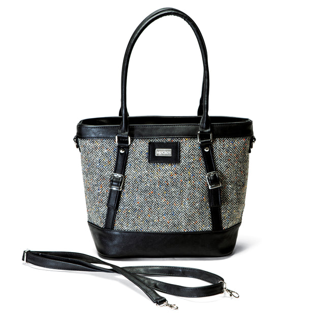 Black Tweed Handbag