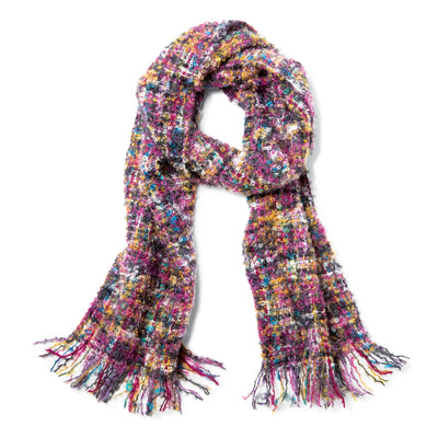 Purple Mohair Scarf