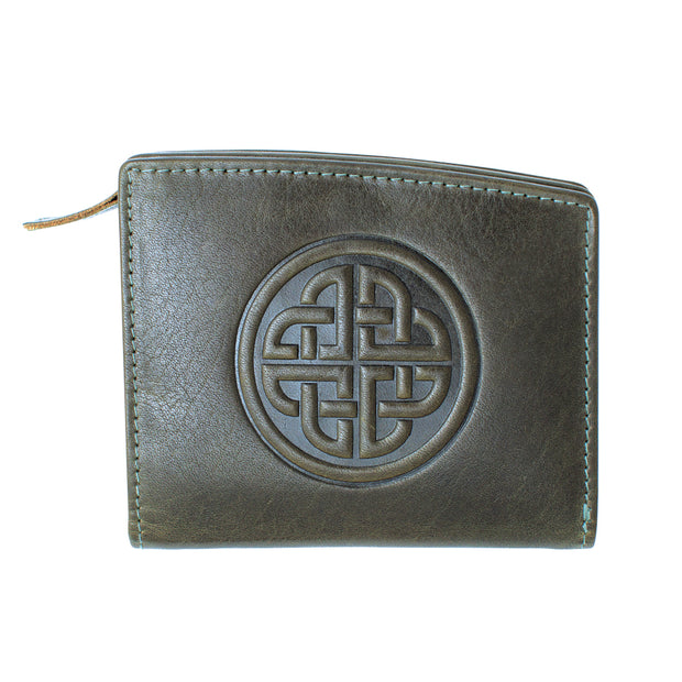 Celtic Knot Leather Wallet
