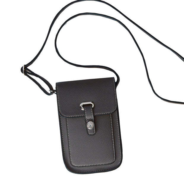 Black Mobile Crossbody