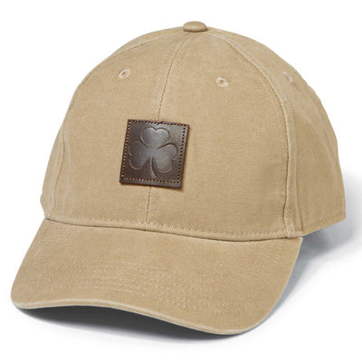 Shamrock Leather Patch Hat
