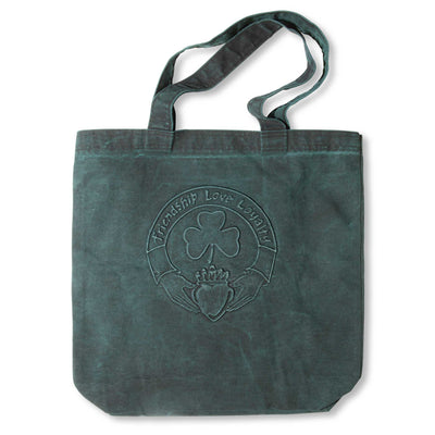 Embossed Claddagh Tote