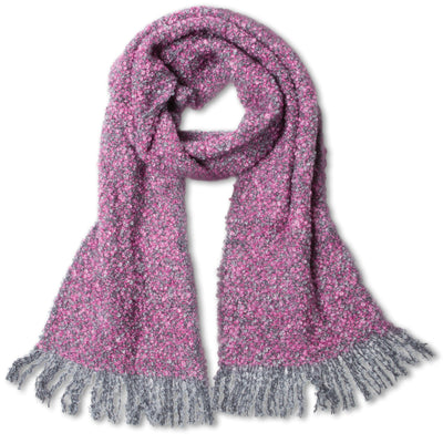 Mohair Scarf, Purple