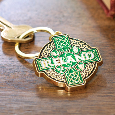 Celtic Cross Keychain