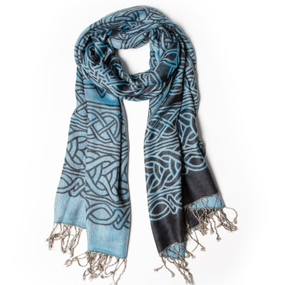 Celtic Scarf, Navy