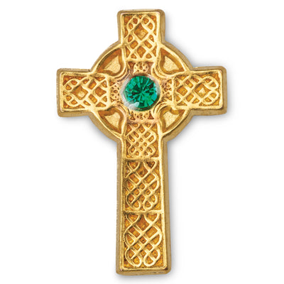 Celtic Cross Lapel Pin