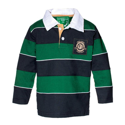 Kid's Striped Rugby