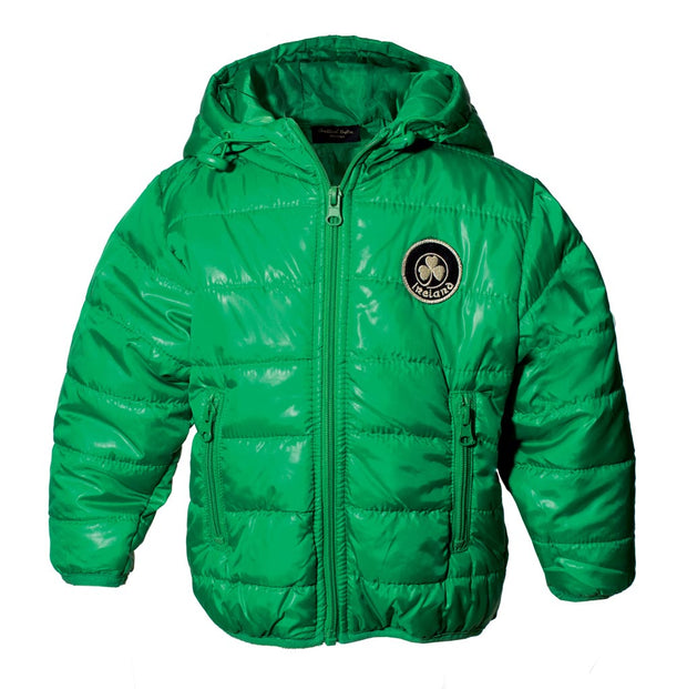 Children's Green Puffer Jacket