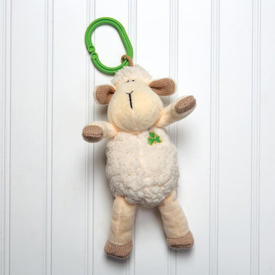 Daisy Sheep Clip with Shamrock