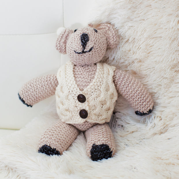 Knitwear Teddy Bear