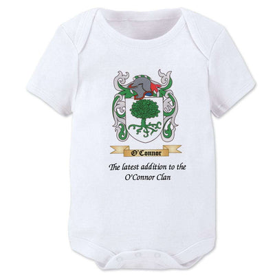 Personalized Family Crest Romper