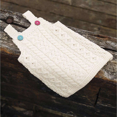 Aran Pinafore Dress