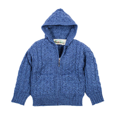 Youth Aran Zip Cardigan
