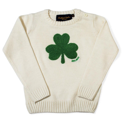 Kid's Shamrock Sweater