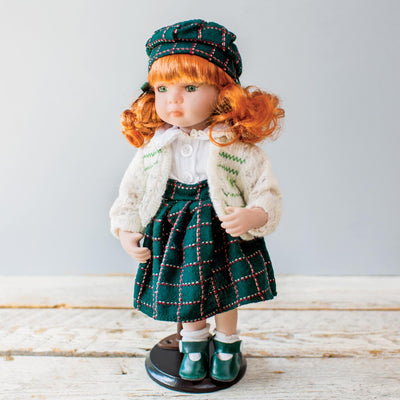 Irish Doll in Plaid