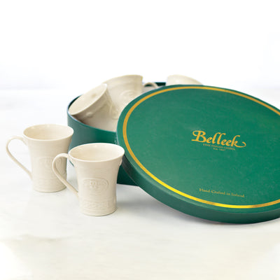 Belleek Claddagh Mugs Gift Set