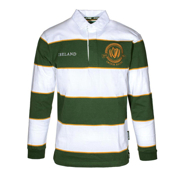 Men's Striped Rugby