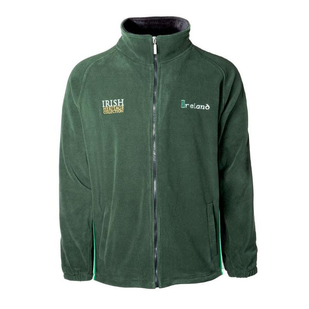 Green Zip Up Fleece