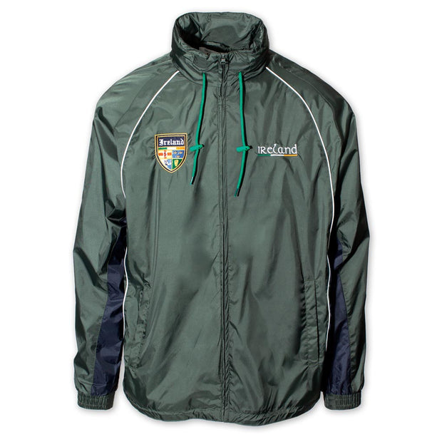 Retro Irish Windbreaker Jacket