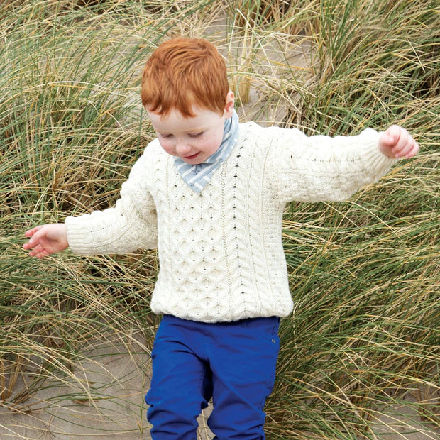 Children's Aran Sweater