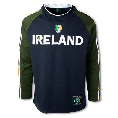 Ireland Shirt with Sleeve Stripe