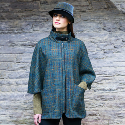 Green Plaid Dunloe Jacket