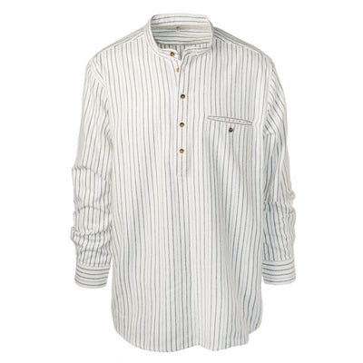 Black Stripe Grandfather Shirt