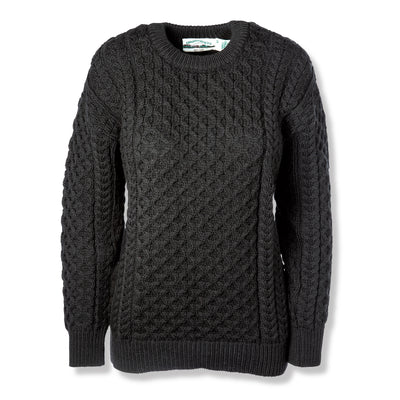 Black Crewneck Sweater