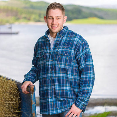 Fleece Lined Flannel Shirt