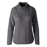 Turtleneck Sweater, Charcoal