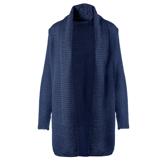 Textured Jacket, Navy