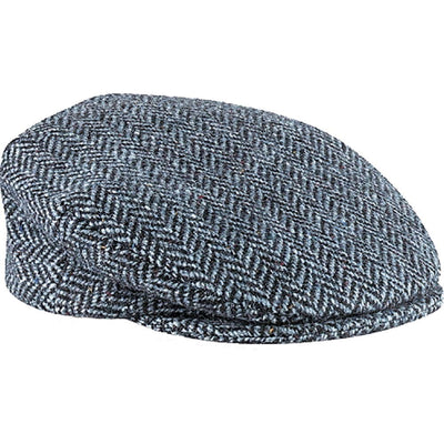 Donegal Herringbone Tweed Cap