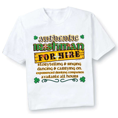 Authentic Irishman Flashing T-Shirt