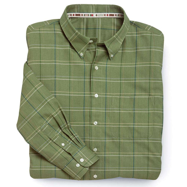 Ireland's Green Plaid Shirt