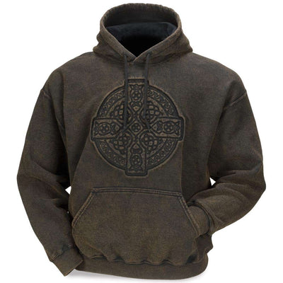 Stonewashed Embossed Circle of Life Sweatshirt