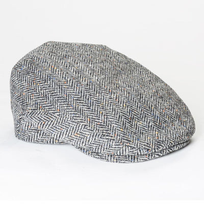 Herringbone Tweed Trinity Cap
