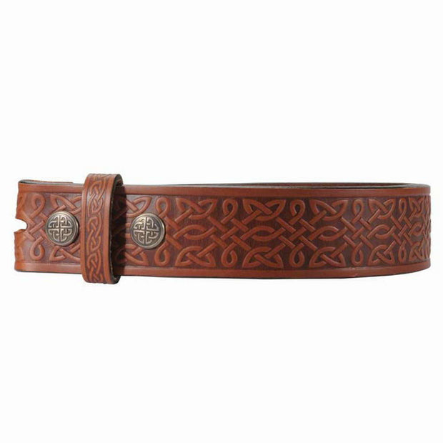 Brown Celtic Knot Belt