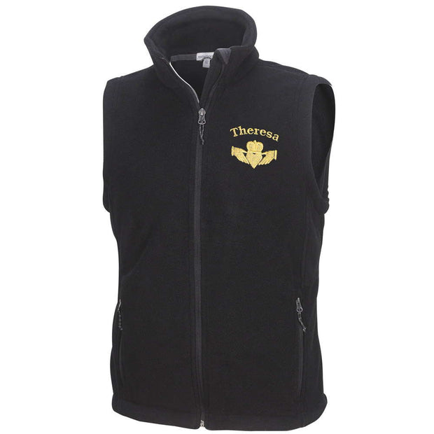 Personalized Fleece Vest