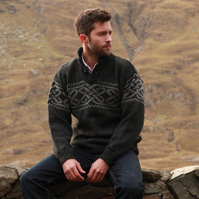 Men's Celtic Troyer Sweater