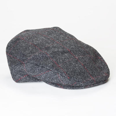 Black Tweed Trinity Cap