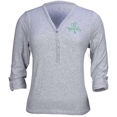 Women's Shamrock Henley Shirt