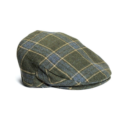 Plaid Quiet Man hat