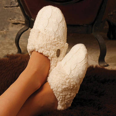 Adult Knitted Slipper