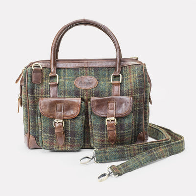 Aran Double Front Pocket Bag