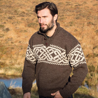 Men's Fairisle Celtic Troy Sweater