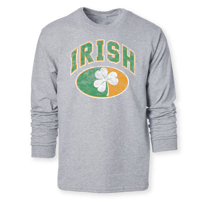 Irish Shamrock Long Sleeve